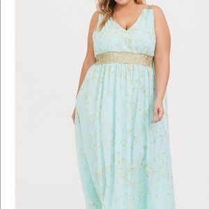 Royal Halloween maxi dress